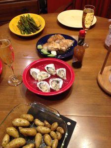feb2 vday dinner